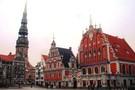 Lettonie - Riga, Hôtel Saint Sylvestre à Riga         3*