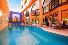 Maroc - Marrakech, Hôtel Les Trois Palmiers         3*